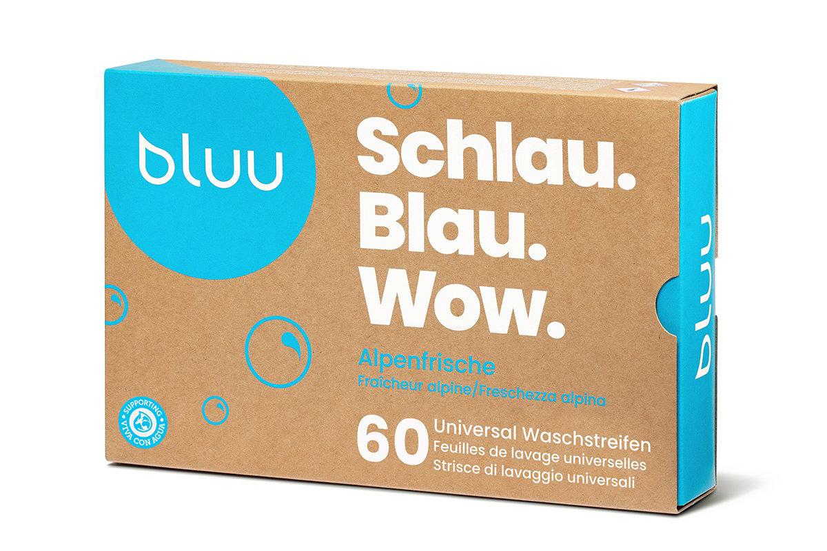 Image of 60 Universal Waschstreifen - Alpenfrische